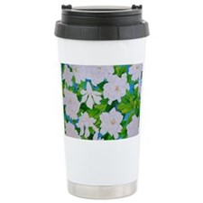 Gardenias Travel Coffee Mug