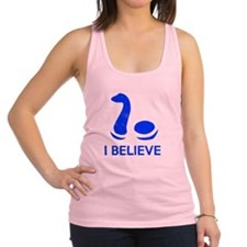 I Believe (in Nessie) Racerback Tank Top