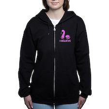 I Believe (in Nessie) Women's Zip Hoodie