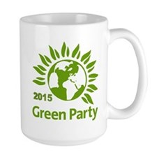 Green Party 2015 Mug Mugs