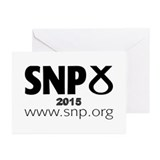 Snp Greeting Cards (10 Pack)