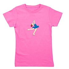 Ice Skate Spin Girl's Tee