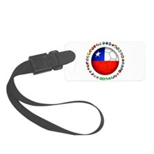 Chile Soccer Luggage Tag