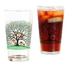 Shady Oak Owls Drinking Glass