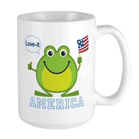 America, Love-it: Large Mug
