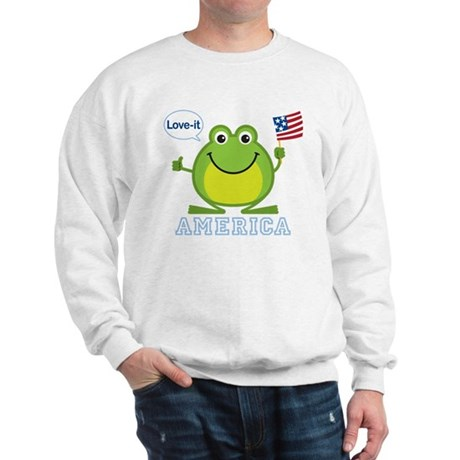 America, Love-it: Sweatshirt