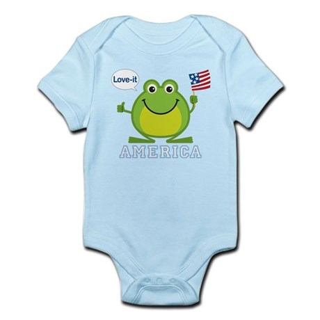 America, Love-it: Infant Bodysuit