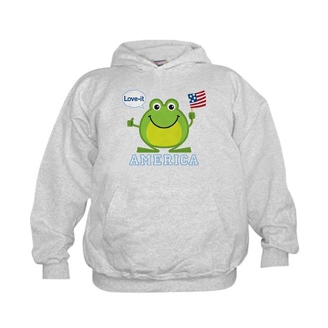 America, Love-it: Kids Hoodie