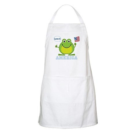 America, Love-it: BBQ Apron