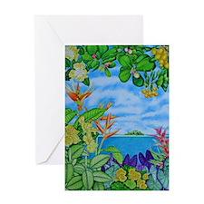 Solitarty Paradise Greeting Card