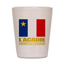 Acadian Flag Shot Glass