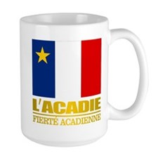 Acadian Flag Mugs