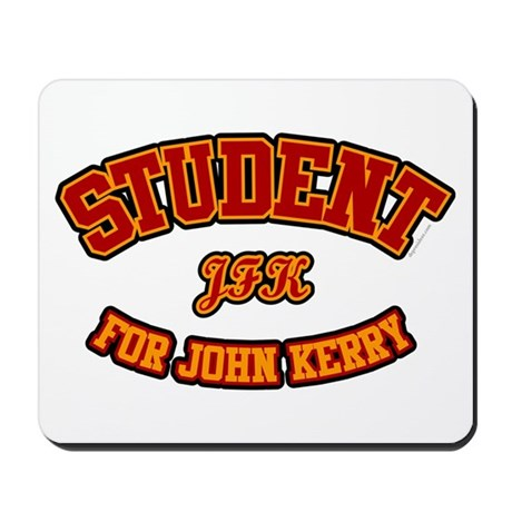 Student for John Kerry. Mousepad