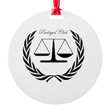 Paralegal Club for Kaplan  Ornament