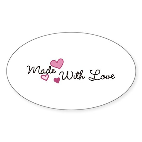 Made with Love Decal