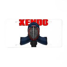 Unique Kendo Aluminum License Plate