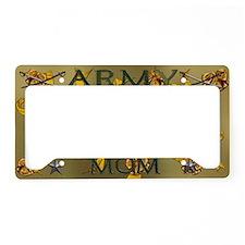 Harvest Moons Army Mom License Plate Holder