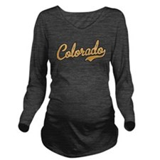 Colorado Long Sleeve Maternity T-Shirt