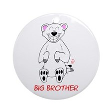Big Brother Bear Ornament (Round)