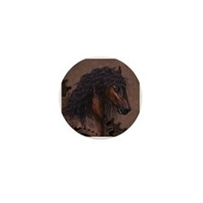 Steampunk Horse Mini Button (10 pack)