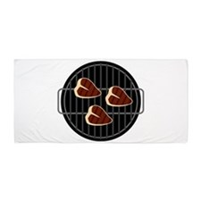 BBQ Grill Beach Towel