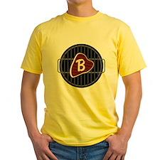 MONOGRAM BBQ Grill T-Shirt