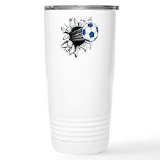 Breakthrough Soccer Bal Stainless Steel Travel Mug
