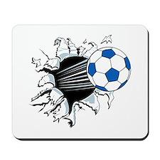 Breakthrough Soccer Ball Mousepad