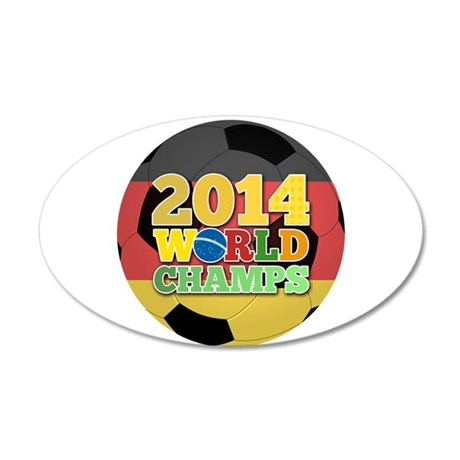 2014 World Champs Ball - Germany Wall Decal