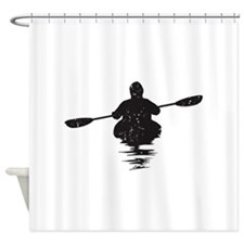 Kayaking Shower Curtain