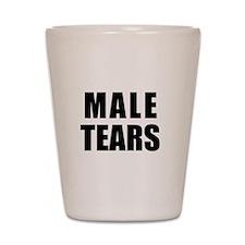 Male Tears Shot Glass