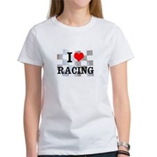 I Love Racing T-Shirt