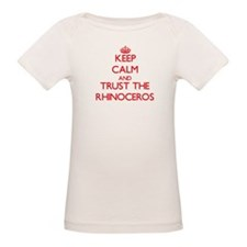 Keep calm and Trust the Rhinoceros T-Shirt