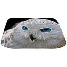 White Owl Bathmat