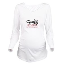My Goal Long Sleeve Maternity T-Shirt