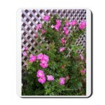Roses and Trellis Mousepad