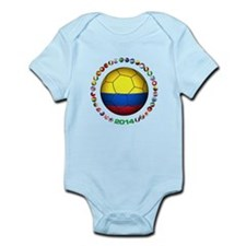 Colombia futbol soccer Body Suit