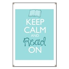 Keep Calm and Read On Banner