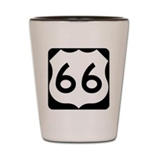 Route 66 Vintage Road Sign Shot Glass
