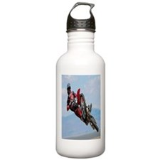 Motocross Stunt Water Bottle