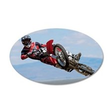 Motocross Stunt Wall Decal