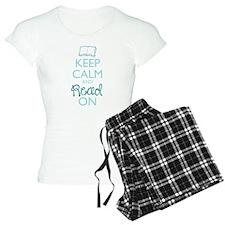 Keep Calm And Read On Pajamas