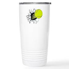 Breakthrough Tennis Bal Stainless Steel Travel Mug