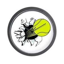 Breakthrough Tennis Ball Wall Clock