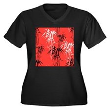 Asian Bamboo Plus Size T-Shirt