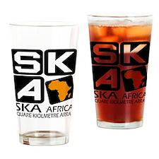 Sq. Km. Array Africa Drinking Glass