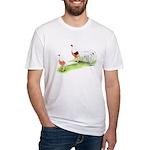 Yokohama Chickens Fitted T-Shirt