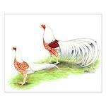 Yokohama Chickens Small Poster