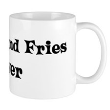 Burger And Fries lover Mug