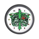 Halloween skeleton Wall Clock